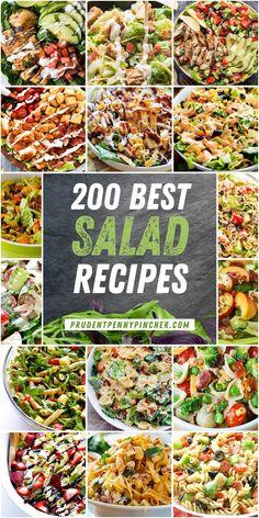Bbq Salads, Lettuce Salads, Dinner Salads, Easy Salads, Summer Salads, Spinach Salads, Spinach Recipes, Healthy Pastas, Healthy Pasta Recipes