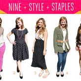 Style Staple: 9 Pieces for a Chic Week