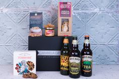 A craft Ale and cider hamper - A hamper filled with Award Winning Hogsback brewery ales and cider, a selection of savoury and sweet treats - A great Christmas gift idea. Christmas Gift Inspiration, Great Christmas Gifts, Craft Ale, Birthday Gift For Him, Beautiful Gifts, Refreshing Drinks, Corporate Gifts, Inspirational Gifts, Hamper