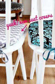 Einfache Sitzkissen