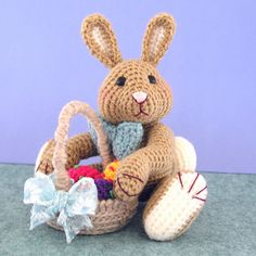 Harvey Thumper, Easter Bunny Assistant ~ free pattern