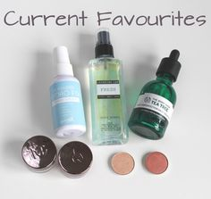 Current Favourites | Skincare  Make up   Sometimes there are products you just want to tell the world how much you love!  These are some of my current must haves and dailies!  Barry M Hydro Fix Primer Water  Barry M are really starting to make their mark in the beauty world and venturing out from just nail products. I'm not the biggest fan of their make up but this product is so handy to have on your vanity and could easily but used as a dupe for the Smashbox Photo Finish Primer Water. The…
