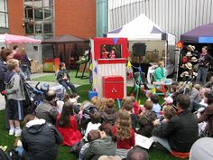 Punch and Judy live