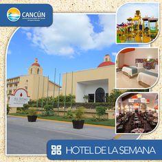 ¿Ya conoces nuestro #HotelDeLaSemana? Más renovado que nunca, All Ritmo Cancun Resort & Waterpark te conquistará con su decoración mexicana contemporánea. Si quieres vivir algo autentico con un toque de alegría latina, esta es la combinación perfecta. Disfruta la atención, calidez en el servicio y el compromiso con tu entera satisfacción.