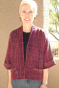 Judith Shangold - patterns for handwoven fabrics