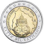 2 euro 75th Anniversary of the Foundation of the Vatican City State - 2004 - Series: Commemorative 2 euro coins - Vatican City