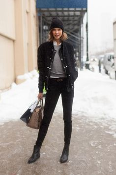 NYFW FW14 Street Style by Melodie Jeng (models.com)