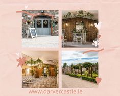 Darver Castle is your perfect location for both intimate and larger wedding celebrations, civil ceremonies and informal blessings. We are an HSE registered venue with a dedicated onsite Ceremony room and bridal parlour. Our experienced wedding specialists will assist you with the careful planning of all aspects of your wedding from the ceremony through to the celebration afterwards. Contact us today to arrange a private viewing. Private Viewing, Civil Ceremony, Parlour, Your Perfect, Celebrity Weddings, Simply Beautiful, Old World, Blessings, Countryside