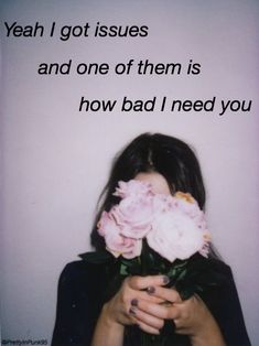 Issues // Julia Michaels Pinterest : @PrettyInPunk95☾