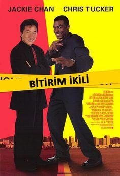 Bitirim Ikili 1 - Rush Hour - 1998 - BRRip - Turkce Dublaj Film Afis Movie Poster - http://turkcedublajfilmindir.org/Bitirim-Ikili-1-Rush-Hour-1998-BRRip-Turkce-Dublaj-Film-6209