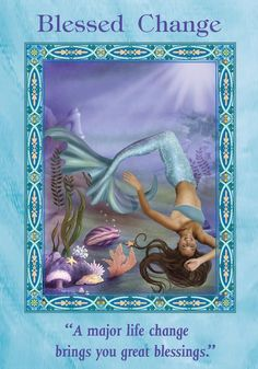 Oracle Card Blessed Change | Doreen Virtue - Official Angel Therapy Website #PsychicWebsite