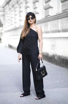 Outfit | How To Wear A One Shoulder Top Vol. I