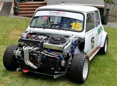 Mini Cooper Custom, Mini Cooper Classic, Mini Cooper S, Classic Mini, Mini Morris, Street Racing Cars, Car Mods, Car Engine, Modified Cars