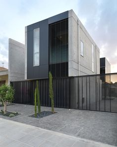 """""""Unpolished"""" Modern Home in Cyprus Blending Industrial Elements With Minimalist Design"""