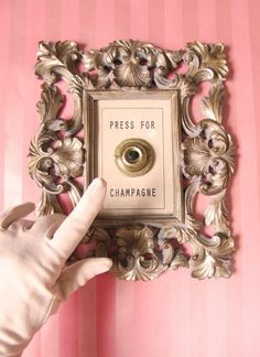 Press for champagne. Rather than champagne, can I press once for beer and twice for wine. Press For Champagne, Pink Champagne, Champagne Quotes, Champagne Party, Champagne Images, Champagne Bedroom, Champagne Gifts, Champagne Ring, Champagne France