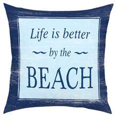 Life is Better Pillow