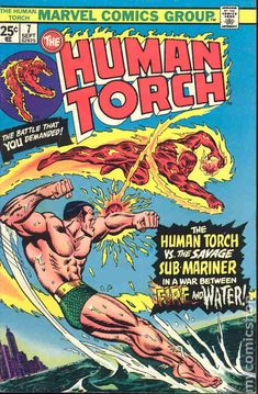 Human Torch (1974 1st Series) 7                                                                                                                                                                                 More