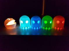 Pac-Man Lantern by b1sh0p - Thingiverse