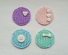 Polymer Clay Knitting