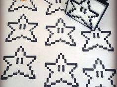 Pack de Sellos 8bits diseñados en 3D - ThingsCreators.com