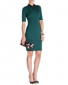 Seam detailed dress - CORIE - Ted Baker