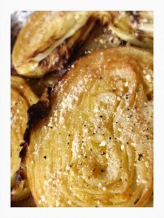 Garlic Roasted Cabbage Steaks