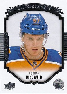 0af8324b218 Connor Mcdavid 15 16 Upper Deck Series 2 Rookie Portraits from  0.99