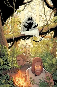 Moon Knight * Two avatars enter the jungle, only one will leave! * The Sun King's ritual of ascendance is prepared. * But Moon Knight won't go gentle. Comic Movies, Comic Book Characters, Marvel Characters, Comic Book Artists, Comic Books Art, Comic Art, Marvel Dc, Disney Pixar, Marvel Moon Knight