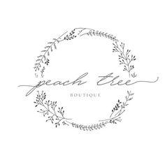 Premade Logo Feminine Design Florist by StylishCreativeShop