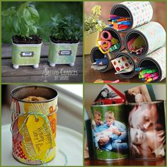 Old Can Upcycling