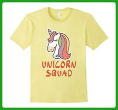 Mens Unicorn Squad Cute Rainbow Unicorn Toddler Party T-Shirt 3XL Lemon - Fantasy sci fi shirts (*Amazon Partner-Link)