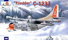 C-123J 'Provider' USAF aircraft 1/144 Amodel 1406