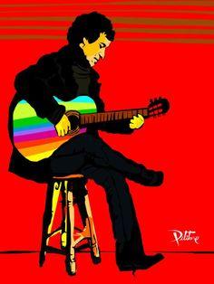 VICTOR JARA  A LO PITITORE... Victor Jara, Communism, John Lennon, Salvador, Disney Characters, Fictional Characters, Politics, Culture, Comics