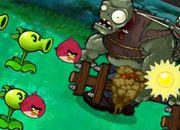 Plants vs Zombies Angry Birds 9