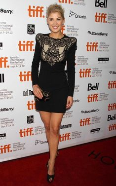 Rosamund Pike Photos: The 35th Annual Toronto International Film Festival - 'Barney's Version' Premiere