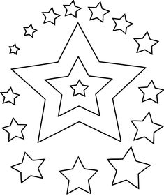 shape coloring pages gif afbeelding 558 669 pixels - Free Printable Star Coloring Pages