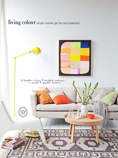 Sneak Peek From Real Living. Colorful Living RoomsLiving ... Part 81