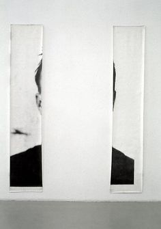 Michelangelo Pistoletto | Le orecchie di Jasper Johns (The Ears of Jasper Johns), 1966