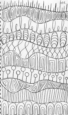 A full page of cool doodles ➰ doodles & zentangle ζωγραφική, Machine Quilting Patterns, Longarm Quilting, Free Motion Quilting, Quilt Patterns, Quilting Ideas, Doodle Patterns, Zentangle Patterns, Arte Mehndi, Zentangle Drawings
