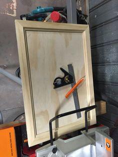 TV cupboard - home made doors