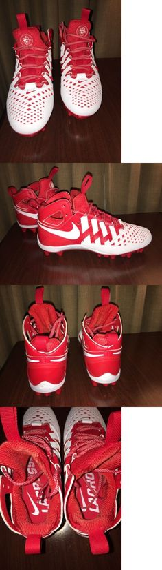 new style a0fef 7bc6b Footwear 159154  Nike Huarache V 5 Lax-Lacrosse Cleats White Red 807142-611  Sz 9, 10, 12 -  BUY IT NOW ONLY   44.99 on eBay!