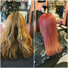 We did a beautiful #creativecolour using #pinkhues after a round of #decolorizer - Victoria #bboutiquesalon