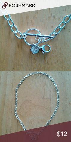 Origami Owl toggle chain Silver toggle chain Jewelry Necklaces