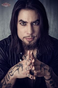 Dave Navarro of Jane's Addiction / INK Masters - Photo by Reverend Vegas. dark, deep, intelligent and sensuous; could kinda work for Donn. Jane's Addiction, Dave Navarro Ink Master, Favorite Tv Shows, My Favorite Things, We Will Rock You, Sexy Tattoos, Tatoos, Dream Guy, Man Candy