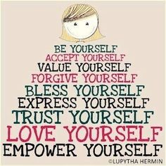 Empower yourself! Love Yourself #quotes