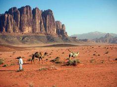 Wadi Rum valley