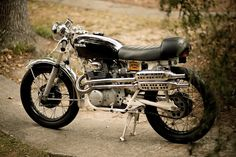 Honda ... a cafe with tracker pipes, nice toy :)