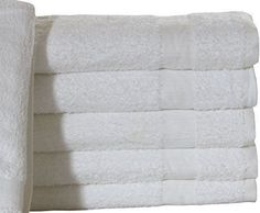 24 new cotton blend white hotel platinum bath towels hotel spa resort irg Towels Smell, Bath Towels, Classic White Kitchen, Hotel Motel, Home Spa, Kitchen On A Budget, Kitchen Colors, Cotton Towels, Resort Spa