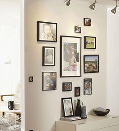 Photos de murs de famille sur pinterest - Mur de photos de famille ...