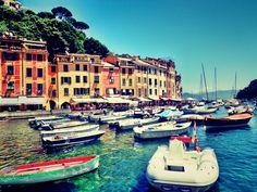 Portofino, Itália. Foto do site www.euandopelomundo.com